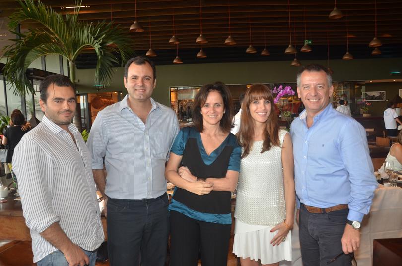 Almoço no Rubaiyat reúne profissionais de arquitetura e design
