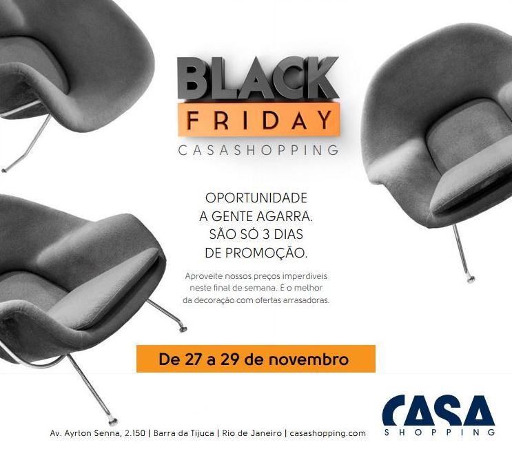 Black Friday no CasaShopping