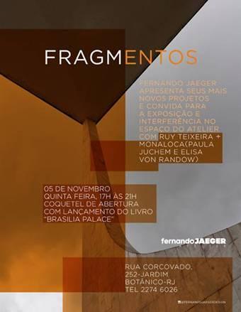 Fernando Jaeger apresenta novas criações e convida para exposição