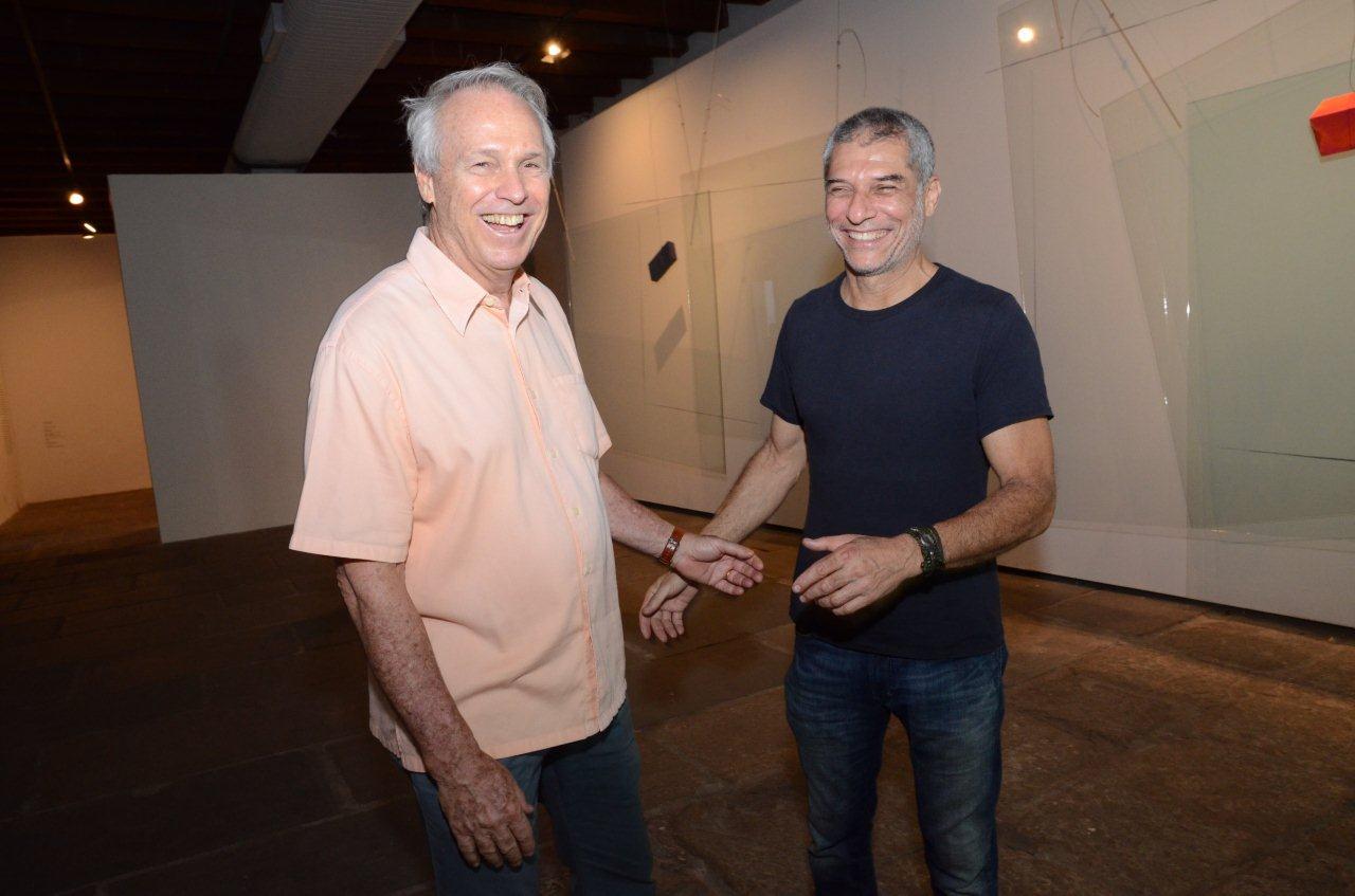 José Bechara abre sua exposição no Paço Imperial