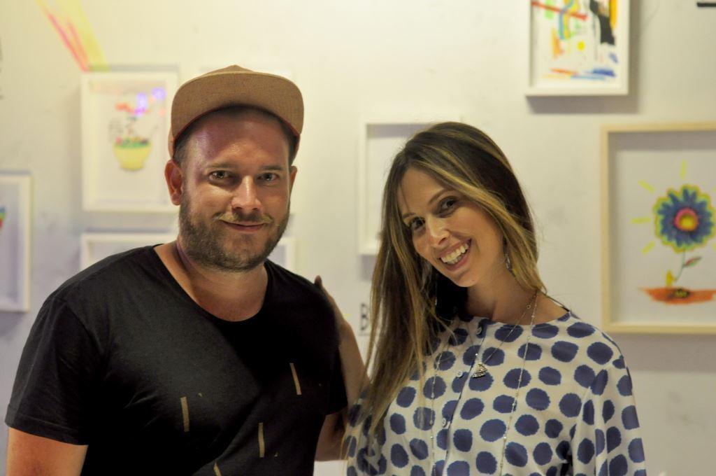 Felipe Guga lança livro na LZ Studio
