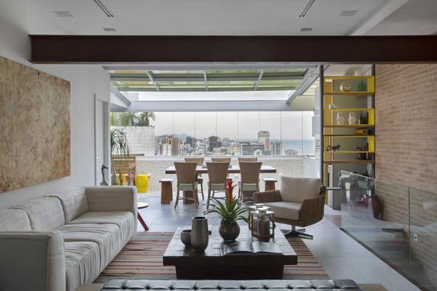 Ketlein Amorim assina projeto de apartamento no Leblon