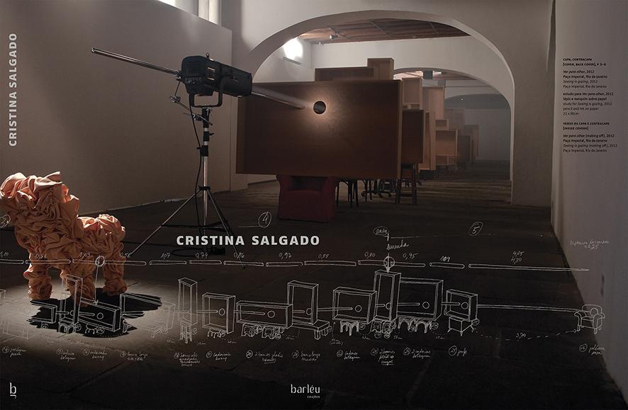 Artista plástica Cristina Salgado lança livro na Travessa Leblon