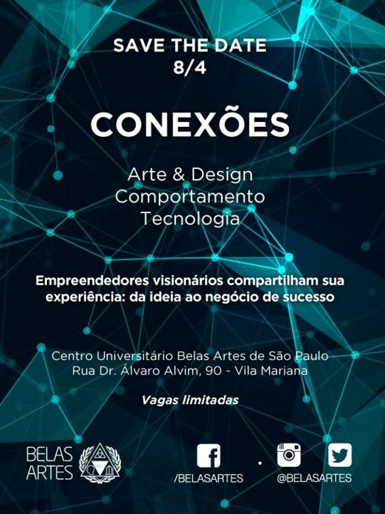 Centro Universitário Belas Artes de São Paulo realiza a 1ª edição do Conexões
