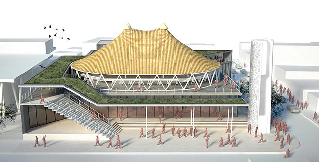 Projeto para nova sede do Circo Crescer e Viver
