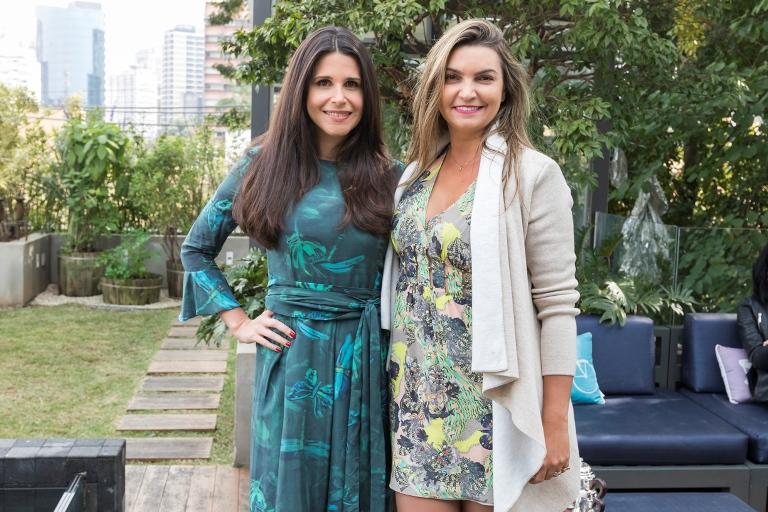 Fabiana Saad recebe convidados para comemorar sua entrada na plataforma digital Olioli