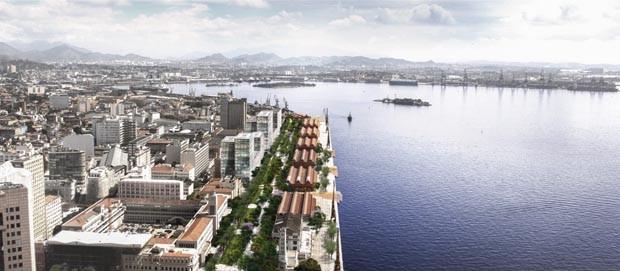 Projeto do Porto Olímpico
