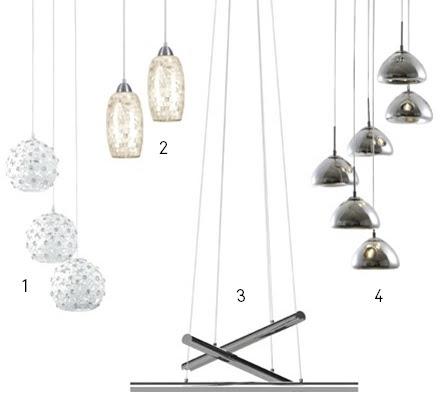 Tendência de luminárias descentralizadas