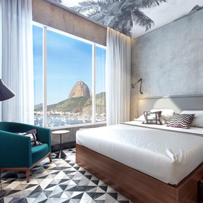 O primeiro hotel design da bandeira Yoo2 inaugurou no último final de semana em Botafogo