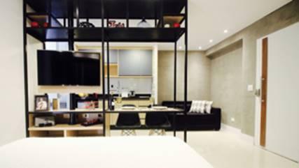 Studio em São Paulo por Glaucio Gonçalves