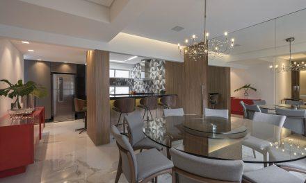 Viviane Rabelo Arquitetura assina apartamento cheio de estilo