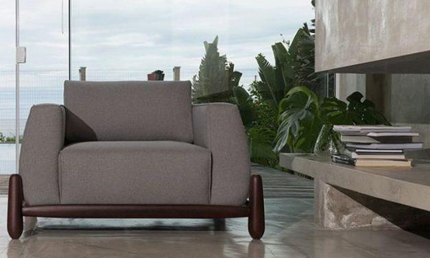 Acervo: Sofá e poltrona da Coleção Mandacarú – design: Plataforma4