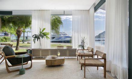 A arquiteta carioca Cristina Côrtes assina um charmoso estúdio de veraneio em Angra dos Reis