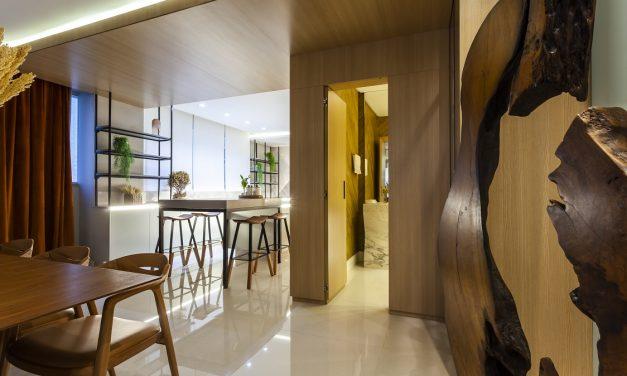 Escritório Thay Santana Aquitetura assina o apartamento de Zezé Di Camargo, em Itapema