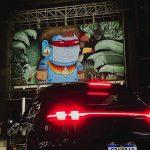 São Paulo recebe exposição de arte em sistema drive-thru