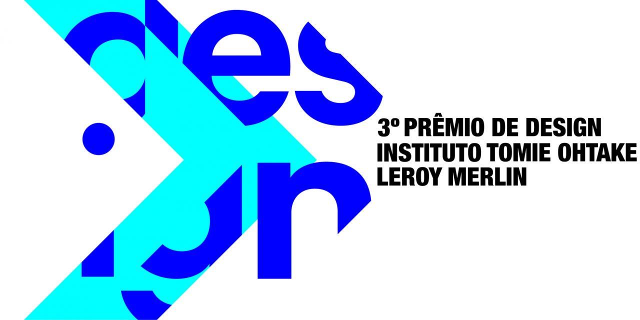 Prêmio nacional de design recebe inscrições até o dia 28 de agosto