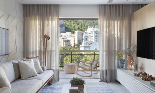 Rio de Janeiro: Up3 Arquitetura assina projeto de um apê de 100m2, na Lagoa.