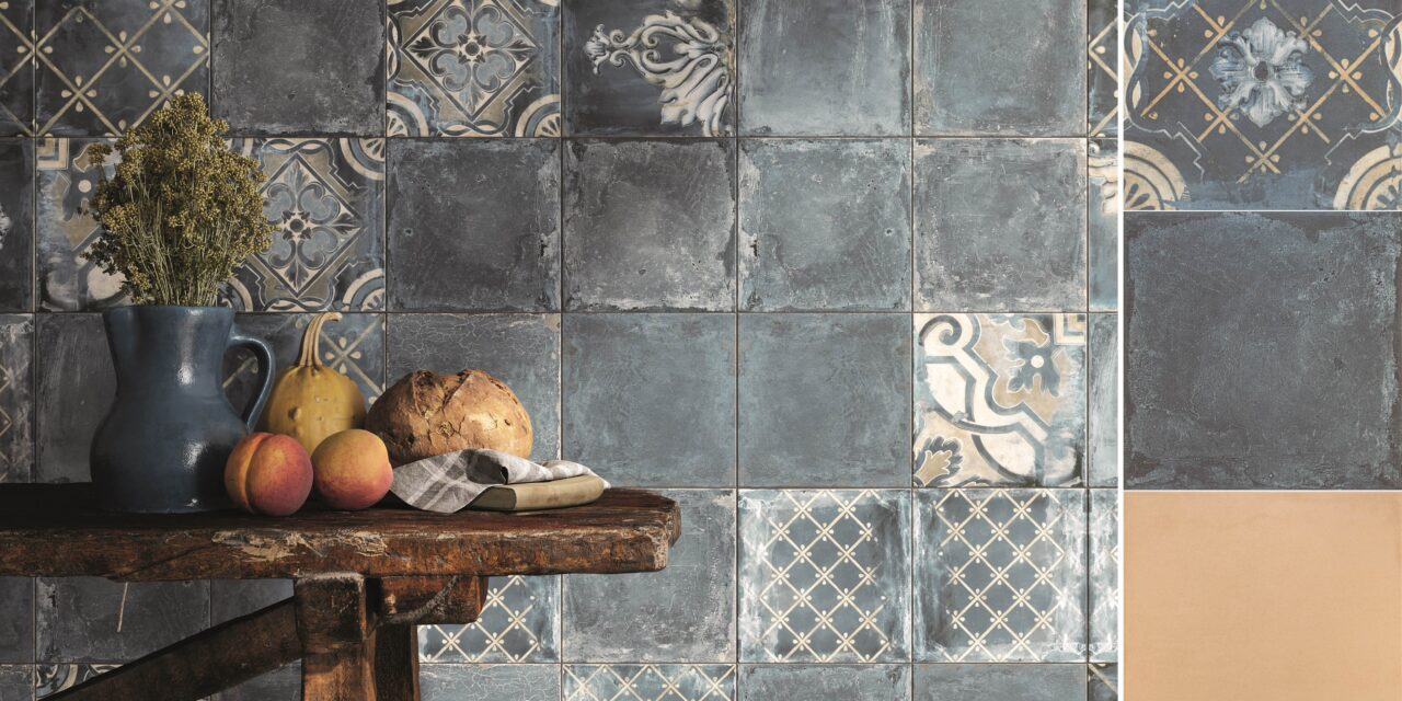 Azulejaria europeia inspira coleções da Roca Cerámica