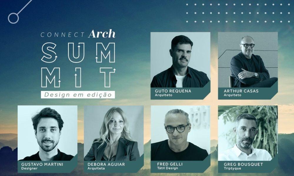 """Connectarch Summit reuniu mais de 10 mil pessoas para debater o """"design em edição"""""""