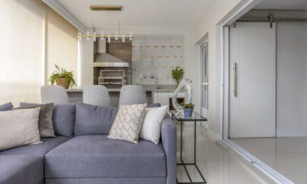 Espaços modernos e aconchegantes no projeto desse apartamento, assinado pelo escritório Vila Ville Arquitetura