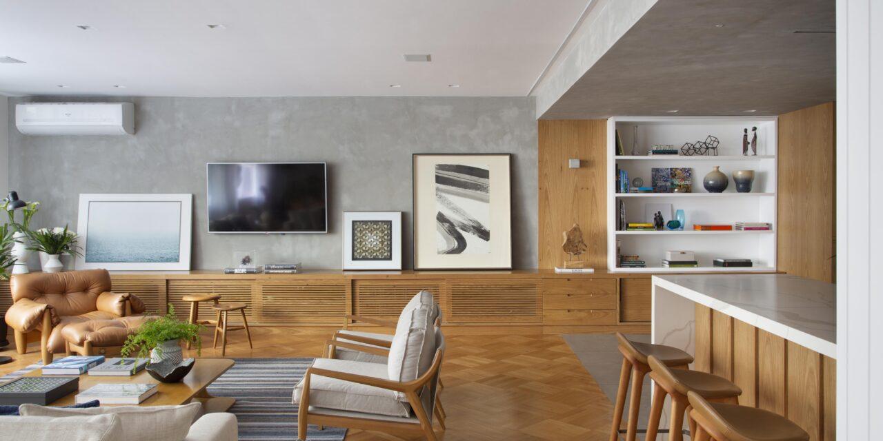 Apartamento térreo em Copacabanaganha reforma total para receber os novos moradores
